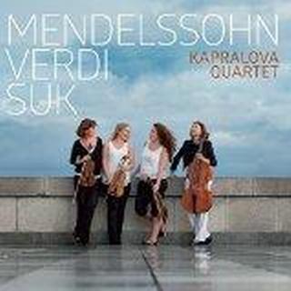 Kapralova Quartet - Mendelssohn Verdi Suk [Kapralova Quartet] [ARCO DIVA: UP0166]